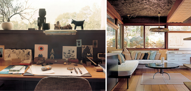Handcrafted Modern At Home With Mid Century Designers