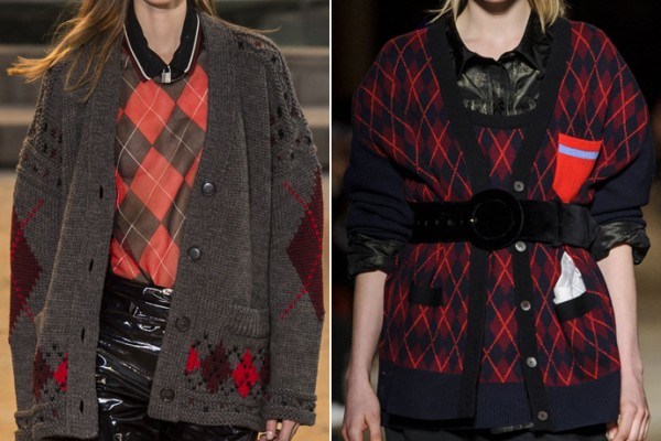From left to right: Isabel Marant, Miu Miu A/W 16/17