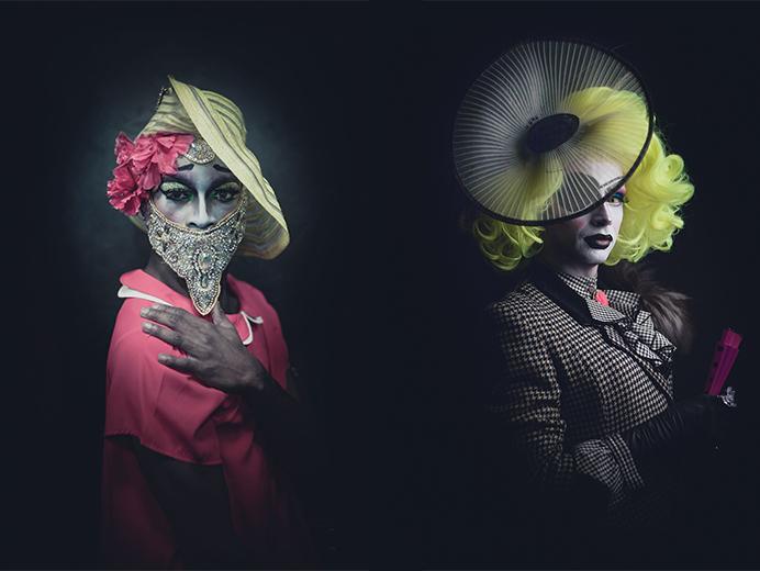 Night Flowers_Uniquae Style Platform_drag art_02