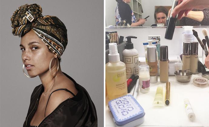 Alicia-Keys-Lena-Dunham-Beauty-Extremes-Make-Up_Unique-Style-Platform