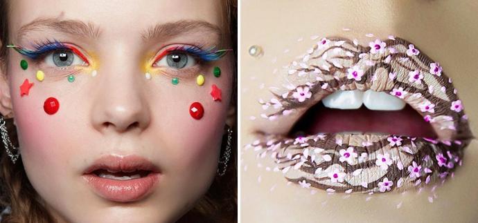 Rainbow-Lashes-Lip-Art-Beauty-Extremes-Make-Up_Unique-Style-Platform