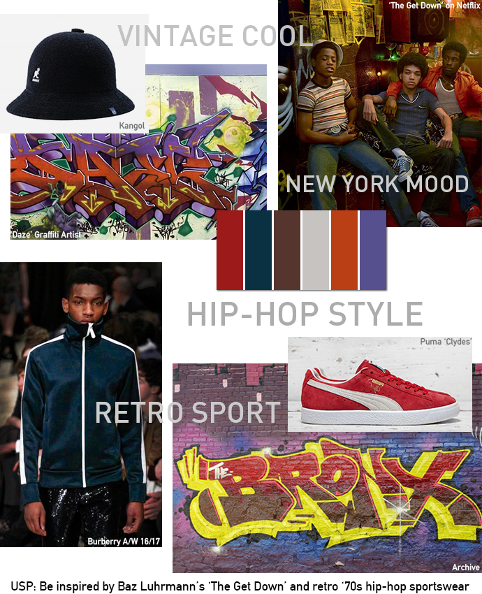 USP-Inspire-Moodboard-The-Get-Down-Retro-Hip-Hop-Unique-Style-Platform