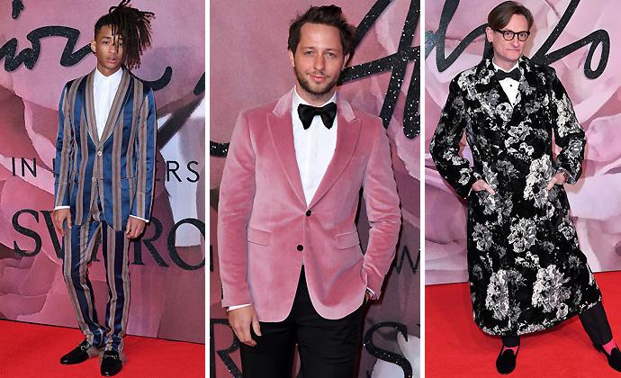 Aout the Boys-British-Fashion-Awards-2016-Red-Carpet-Unique-Style-Platform