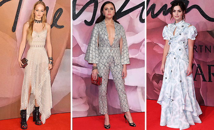 Historical Romance-British-Fashion-Awards-2016-Red-Carpet-Unique-Style-Platform