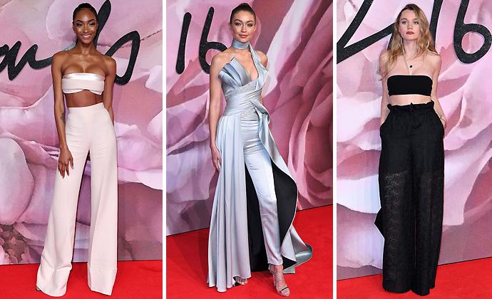 The New Pant Suit-British-Fashion-Awards-2016-Red-Carpet-Unique-Style-Platform