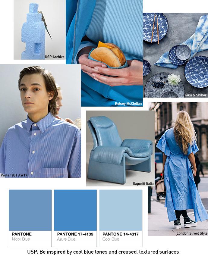 Blue-Moodboard-Pantone-Colour-Unique-Style-Platform