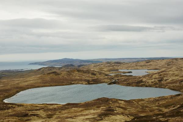 Small lake overlooking Ardbeg