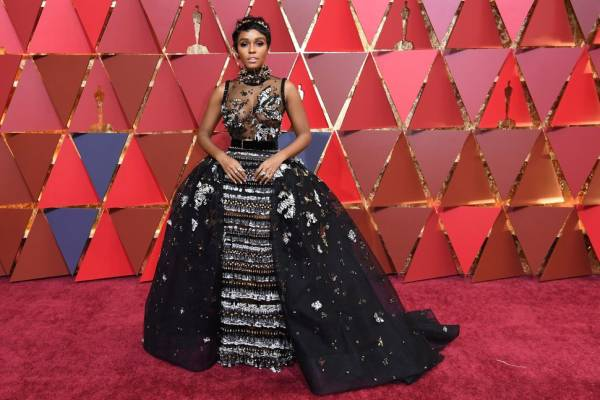 Janelle Monae in Elie Saab      (Photo credit Getty Images)