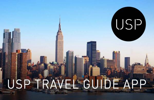USP Travel Guide App 2